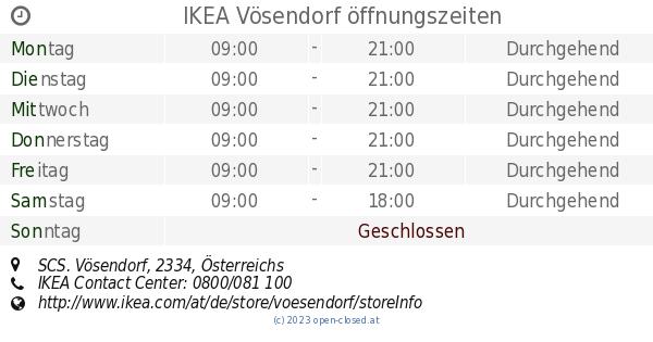 Ikea v sendorf ffnungszeiten scs for Ikea brinkum offnungszeiten